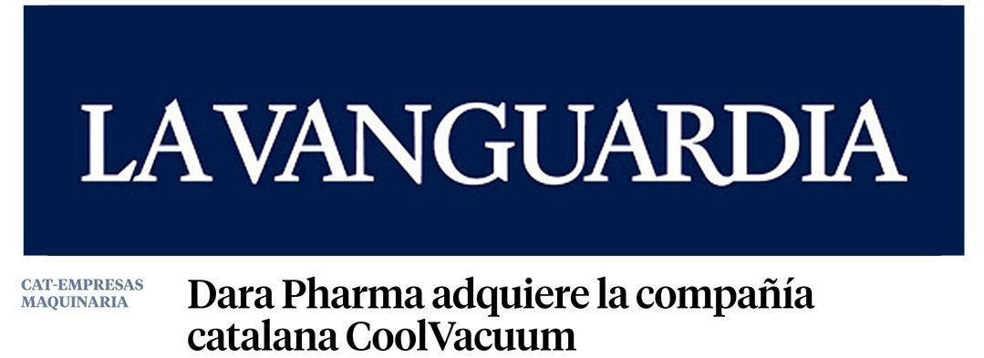 Imagen de la nota de prensa publicada en La Vanguardia.