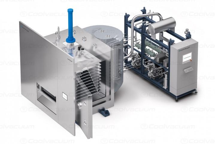 Liofilización a media escala productiva en entornos GMP: LyoCool.