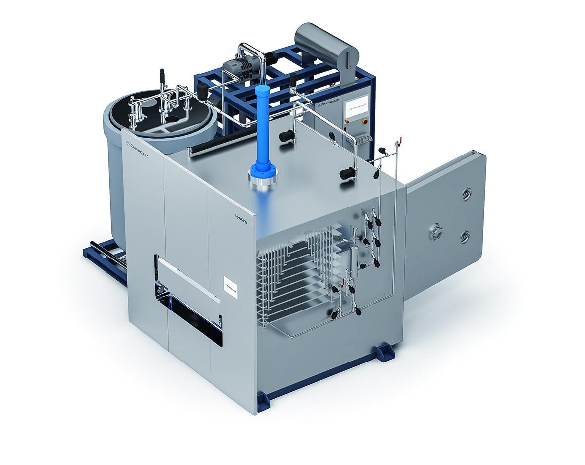 Coolvacuum presenta equipos para la liofilización a gran escala productiva en entornos GMP