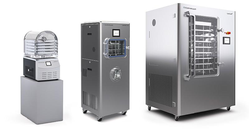 Laboratory and Pilot Freeze dryers